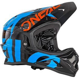 O'Neal Backflip RL2 Casque, slick-black/blue